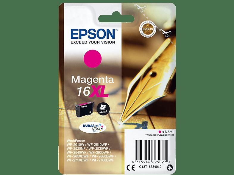 EPSON Original Tintenpatrone Füller Magenta (C13T16334012)