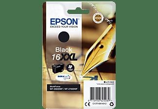EPSON Original Tintenpatrone Schwarz (C13T16814012)