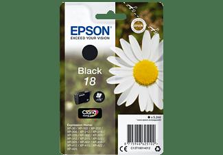 EPSON Original Tintenpatrone Schwarz (C13T18014012)