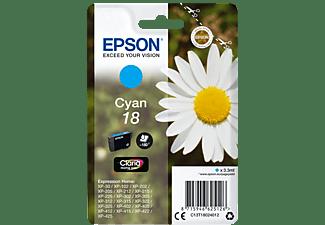 EPSON Original Tintenpatrone Cyan (C13T18024012)