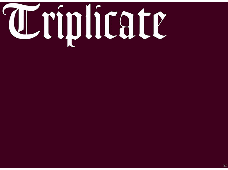 Bob Dylan - Triplicate [CD]