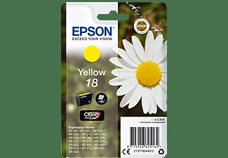 EPSON Original Tintenpatrone Gelb (C13T18044012)