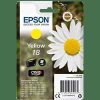 EPSON Original Tintenpatrone Gänseblümchen Gelb (C13T18044012)