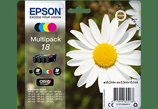EPSON Original Tintenpatrone mehrfarbig (C13T18064012)