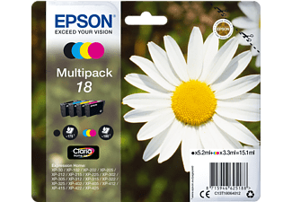 EPSON Multipack 4-colours 18 Claria Home Ink - (C13T18064012)