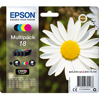 EPSON Original Tintenpatrone Gänseblümchen, mehrfarbig