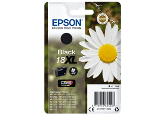 EPSON Original Tintenpatrone Schwarz (C13T18114012)