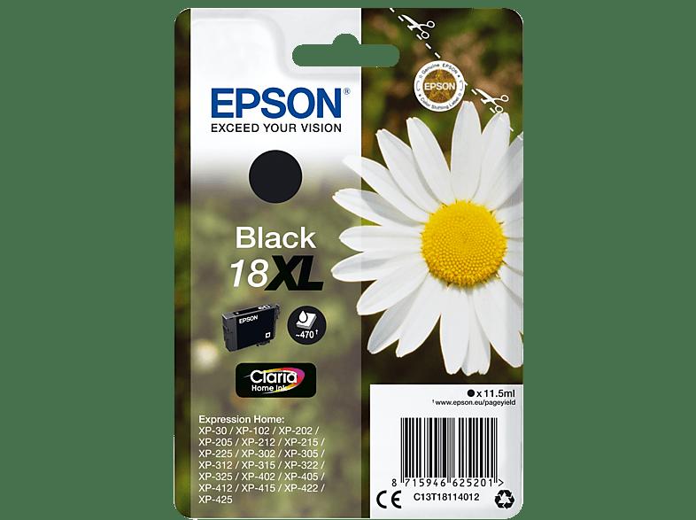 EPSON Original Tintenpatrone Gänseblümchen Schwarz (C13T18114012)