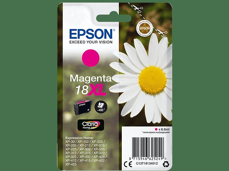 EPSON Original Tintenpatrone Gänseblümchen Magenta (C13T18134012)