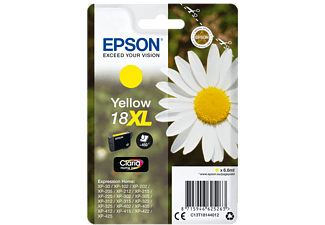 EPSON Singlepack Yellow 18XL Claria Home Ink - (C13T18144012)