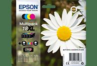EPSON Original Tintenpatrone mehrfarbig (C13T18164012)