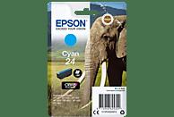 EPSON Original Tintenpatrone Cyan (C13T24224012)