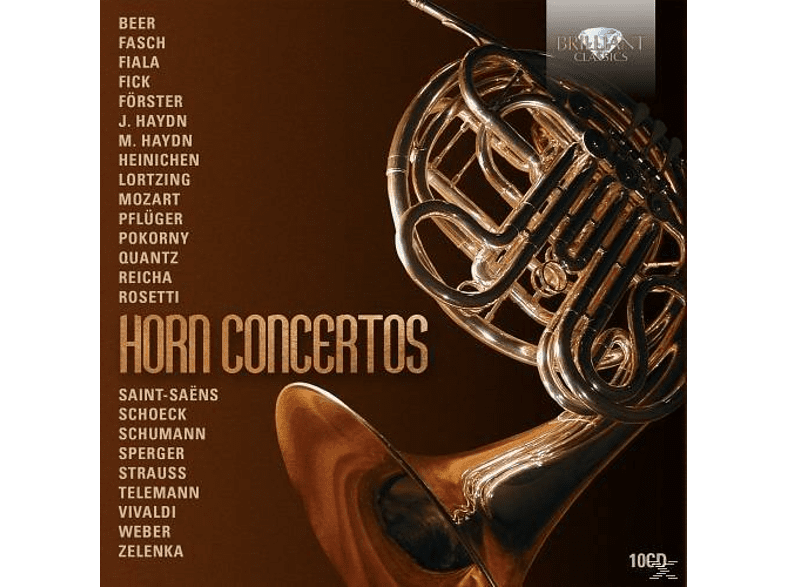VARIOUS - Horn Concertos [CD]