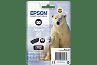EPSON Original Tintenpatrone Photo Schwarz (C13T26114012)