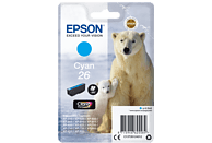 EPSON Original Tintenpatrone Cyan (C13T26124012)