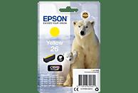EPSON Original Tintenpatrone Eisbär Gelb (C13T26144012)