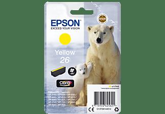 EPSON Original Tintenpatrone Gelb (C13T26144012)