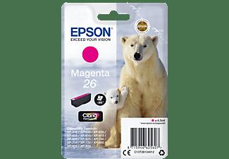EPSON Original Tintenpatrone Magenta (C13T26134012)