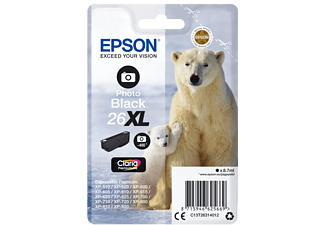 EPSON Original Tintenpatrone Photo Schwarz (C13T26314012)