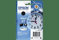 EPSON Original Tintenpatrone Wecker Schwarz (C13T27014012)