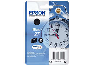 EPSON Original Tintenpatrone Schwarz (C13T27014012)