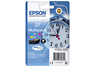 EPSON Multipack 3-colour 27 DURABrite Ultra Ink - (C13T27054012)