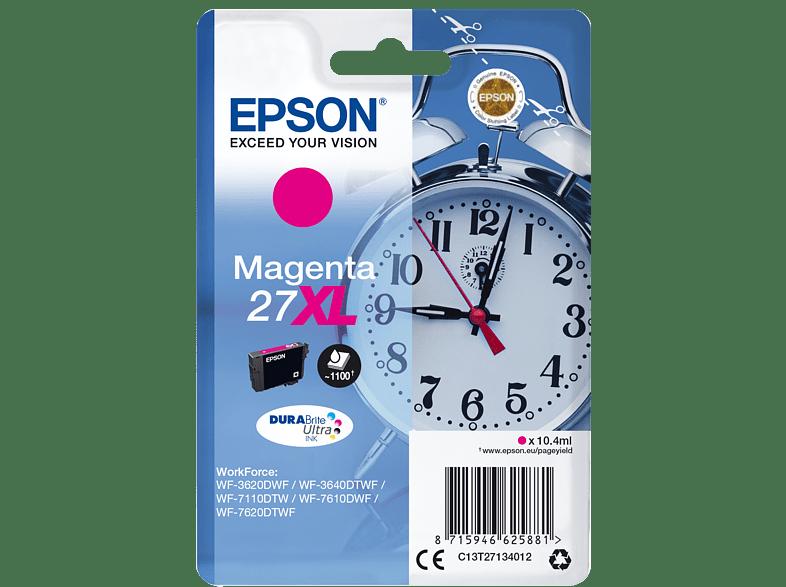 EPSON Original Tintenpatrone Wecker Magenta (C13T27134012)