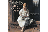 Ensemble Il Demetrio - Paisiello: 6 Flute Quartets, Op. 23 [CD]