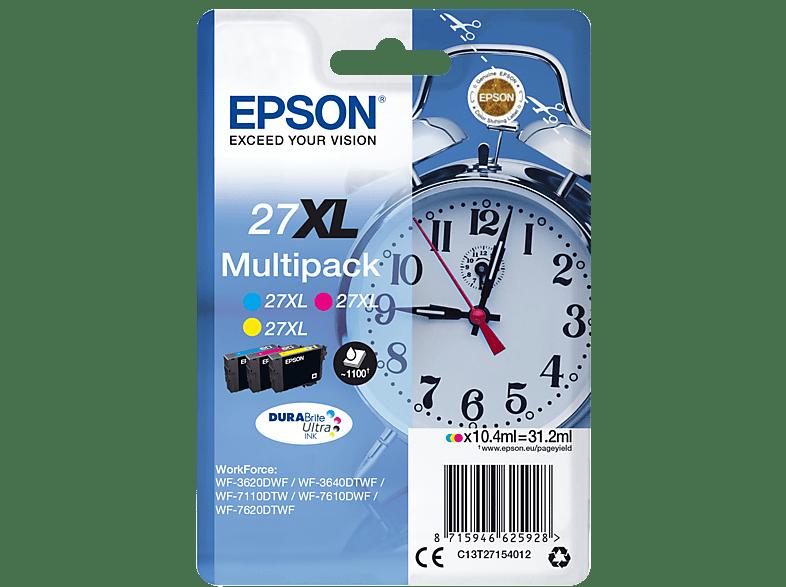 EPSON Original Tintenpatrone Wecker mehrfarbig (C13T27154012)