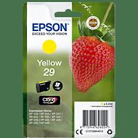 EPSON Original Tintenpatrone Erdbeere Gelb (C13T29844012)