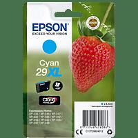 EPSON Original Tintenpatrone Erdbeere Cyan (C13T29924012)
