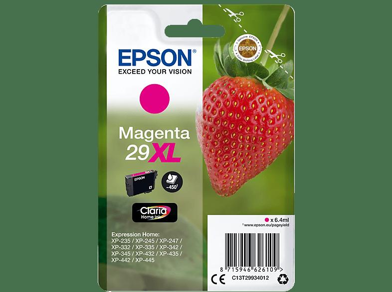 EPSON Original Tintenpatrone Erdbeere Magenta (C13T29934012)