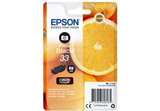 EPSON Original Tintenpatrone Photo Schwarz (C13T33414012)