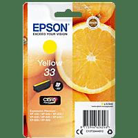 EPSON Original Tintenpatrone Orange Gelb (C13T33444012)