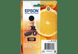 EPSON Original Tintenpatrone Schwarz (C13T33514012)