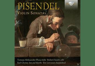 Tomasz Aleksander Plusa, Robert Smith, Earl Christy, Ere Lievonen - Pisendel: Violin Sonatas  - (CD)