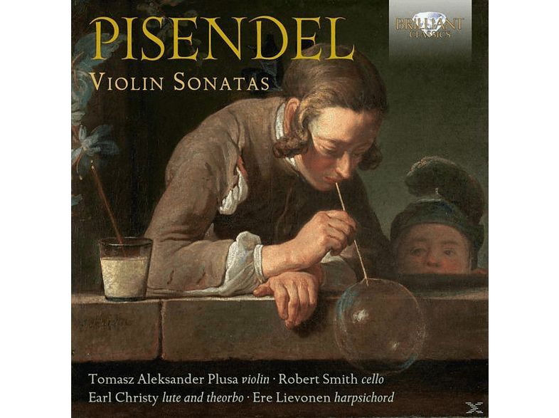 Tomasz Aleksander Plusa, Robert Smith, Earl Christy, Ere Lievonen - Pisendel: Violin Sonatas [CD]