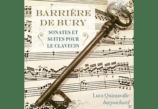 Luca Quintavalle - Barrière/De Bury: Sonates Et Suites Pour Le Clavecin  - (CD)