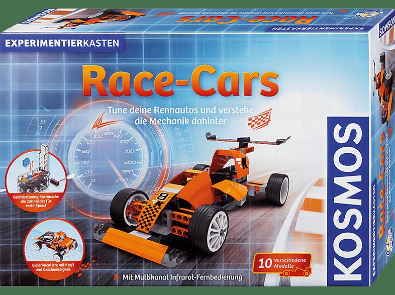 KOSMOS Race-Cars Experimentierkasten, Mehrfarbig