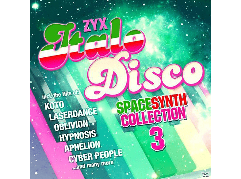 VARIOUS - ZYX Italo Disco Spacesynth Collection 3 [CD]
