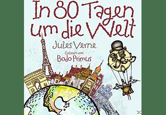 Gelesen Von Bodo Primus - In 80 Tagen Um Die Welt von Jules Verne  - (CD)