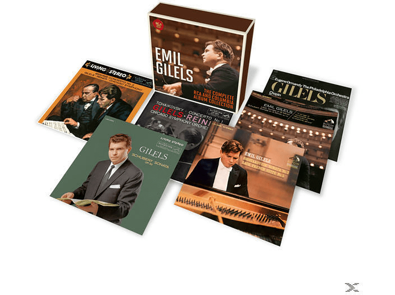 Emil Gilels, New York Philharmonic Orchestra, The Philadelphia Orchestra, Chicago Symphony Orchestra - Emil Gilels-The Complete RCA and Columbia Album [CD]