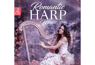 VARIOUS - Romantic Harp Music  - (CD)