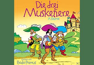 Gelesen Von Bodo Primus - Die 3 Musketiere Von A.Dumas  - (CD)