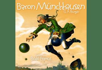 Gelesen Von Bodo Primus - Baron Münchhausen Von G.A.Bürger  - (CD)