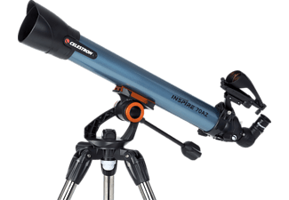 CELESTRON 821666 Inspire 70AZ 35x, 70x, 70 mm, Teleskop