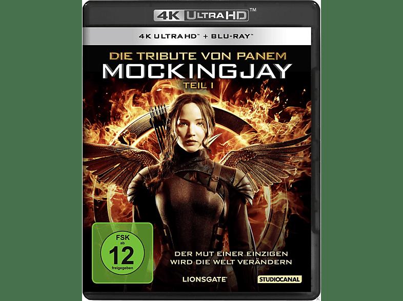 Die Tribute von Panem - Mockingjay 1 [4K Ultra HD Blu-ray + Blu-ray]