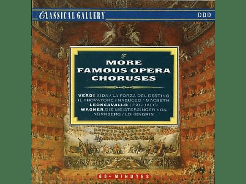 VARIOUS - More Famous Opera Choruse [CD]