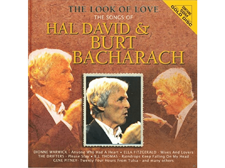 VARIOUS - The Look Of Love. The Songs Of Hal David And Burt Bacharach [CD]