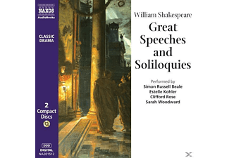 Great Speeches - 2 CD - Literatur/Klassiker